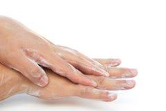 Man washing hands Royalty Free Stock Image