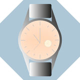 Man watch modern style with different types of clock inside Stock Photography