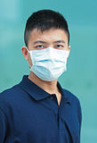 Man wear face mask Stock Photos