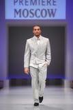 Man wear gray suit from Slava Zaytzev Royalty Free Stock Images