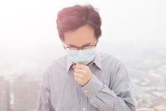 Man wear masks Stock Photo