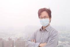 Man wear masks Royalty Free Stock Photos