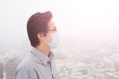 Man wear masks Stock Images