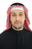Man wearing arabic middle eastern Royalty Free Stock Photography