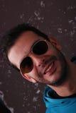 Man wearing aviator sunglasses Stock Photo