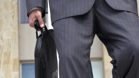 Man Wearing Business Suit stock video