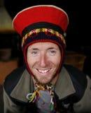 Man wearing cap. Portrait of man wearing cap Stock Photography