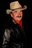 Man wearing cowboy hat Royalty Free Stock Image