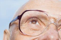 Man wearing eyeglasses Stock Photos