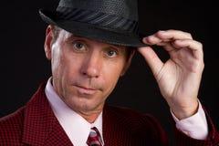 Man Wearing Hat Stock Photos