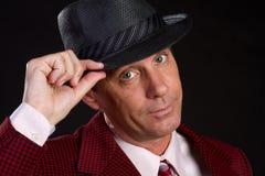 Man Wearing Hat royalty free stock image