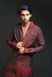 Man wearing indian dhoti Royalty Free Stock Photography