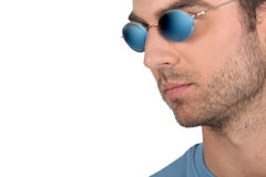 Man wearing shades Royalty Free Stock Images
