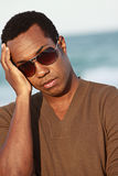 Man Wearing Shades Stock Image
