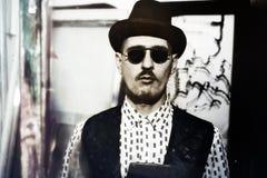 Man wearing a stylish sunglasses Royalty Free Stock Photography