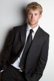 Man Wearing Suit stock photos