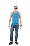 Man wearing sunglasses Stock Photography