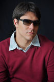 Man wearing sunglasses Royalty Free Stock Photography