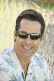 Man wearing sunglasses. Stock Image