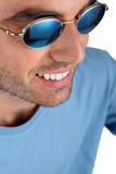 Man wearing sunglasses Stock Photography