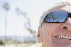 Man wearing sunglasses Stock Images