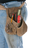 Man wearing toolbelt Stock Photography