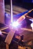 Man welding Stock Image