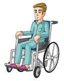 Man Wheelchairs Stock Photo