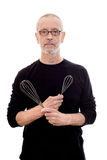Man with Whip Royalty Free Stock Photos