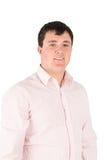 Man white shirt Stock Image