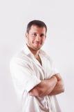 Man in white shirt Royalty Free Stock Image