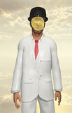 Man in white suit Royalty Free Stock Image
