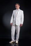 Man In White Tuxedo Stock Photography