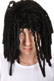 Man in the Wig Stock Image