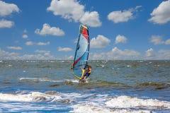 Man Wind Surfing