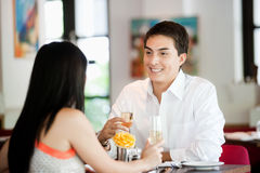 Man with Wine Royalty Free Stock Photography