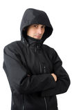 Man with winter clothes Royalty Free Stock Photos