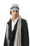 Man in winter clothes Royalty Free Stock Image