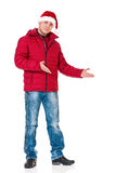 Man in winter clothing Royalty Free Stock Image