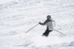 Man winter ski Royalty Free Stock Photos