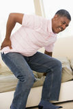 Man With Back Pain Royalty Free Stock Photos