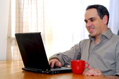 Free Man With Laptop Royalty Free Stock Images - 1564209