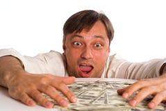 Man With Money Stock Photos