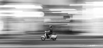 Free Man With Motorbike Stock Photo - 160594020