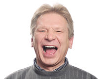 Man With Open Mouth Stock Image