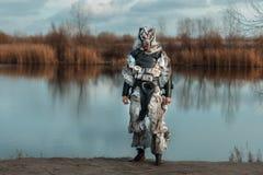 Man wolf, a werewolf. Stock Photography