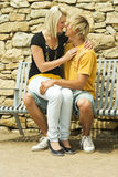 Man and woman. Royalty Free Stock Photos