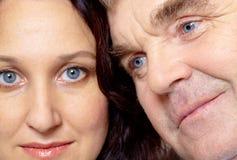 Man and woman stock image