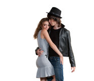 Man and woman Royalty Free Stock Photography