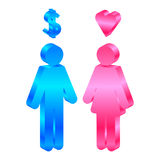 Man and woman Royalty Free Stock Images